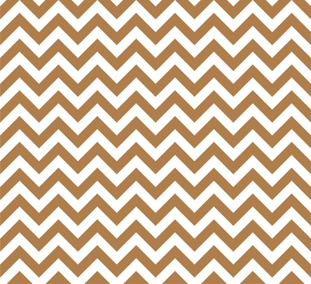 Gold and white Zig zag seamless pattern Stock fotó