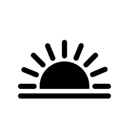 Sunrise and sunset icon.