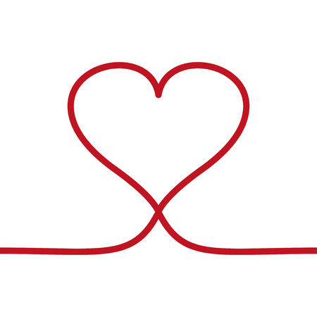 Heart live frame icon vector. Love symbol. Valentine s Day sign, emblem isolated on white background style for .