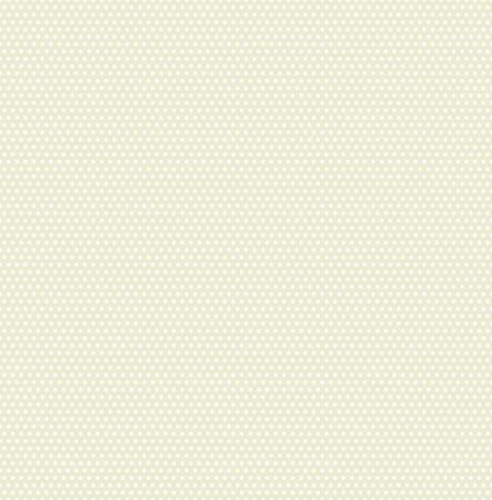 Small polka dots seamless pattern on soft green background. Polka dot fabric. Retro vector background or pattern. Casual stylish polka dot texture on green background. Vector and illustration.