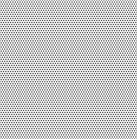 Small polka dots seamless pattern background. Polka dot fabric. Retro vector background or pattern. Casual stylish black polka dot texture on white background. Vector and illustration. 일러스트