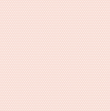 Small polka dots seamless pattern on soft green background. Polka dot fabric. Retro vector background or pattern. Casual stylish polka dot texture on pink background. Vector and illustration.