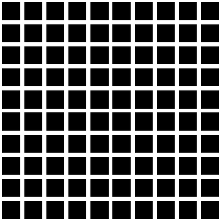 Black and white square checkered