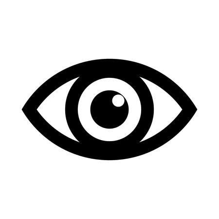 Eye icon logo. Look and Vision icons. Ilustração