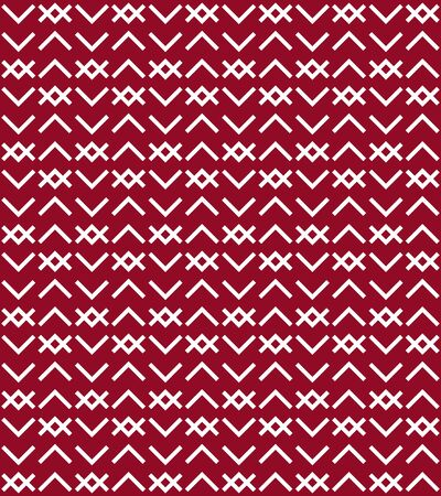 Ethnic baltic art cross ornament seamless pattern.