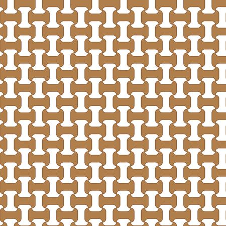 chain grid gold pattern texture seamless vector Çizim