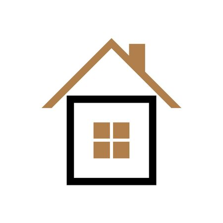 House icon Vector simple flat logo symbol Illustration