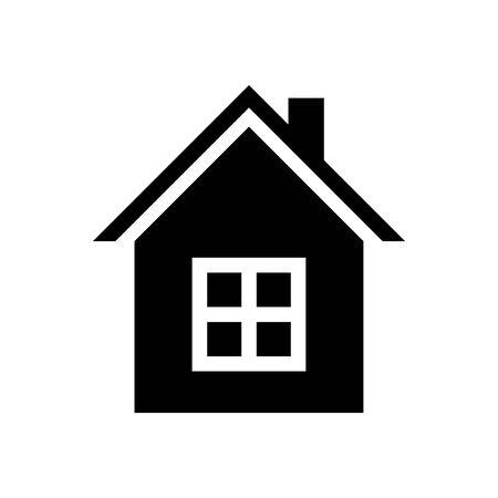 House icon Vector simple flat logo symbol 일러스트