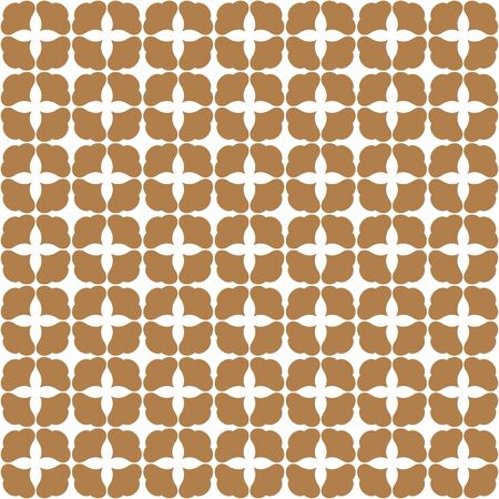Japanese luxury floral art vector seamless pattern