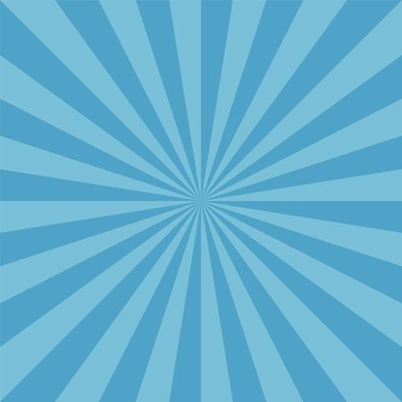Patrón de azul sunburst redondo de nieve de invierno Ilustración de vector