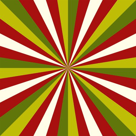 Sunburst  christmas pattern radial stripes.