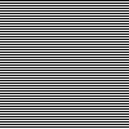 Black horizontal thin stripes or lines pattern Ilustrace