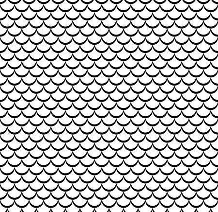 Waves lines design elements pattern chinese style Ilustração Vetorial