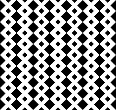 Geometric seamless repeatable striped rectangular pattern with squares. Cell, grid with lines background. Tiles. Latticed geometric texture. Vector art