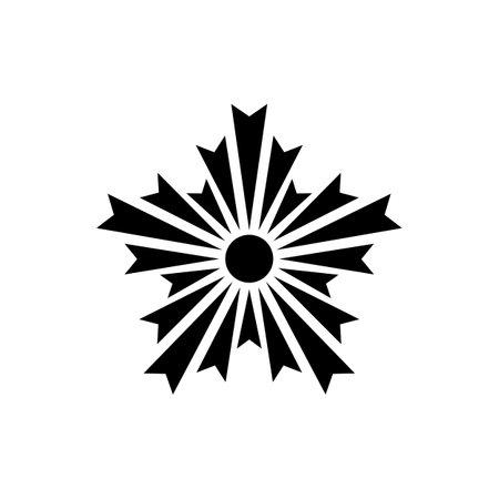 chapter symbol. Japan Police Crest sign