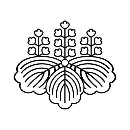 Japan national Fire Department Crest symbol sign