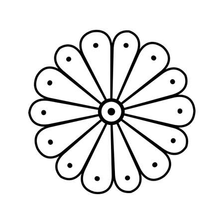 Japan style design flower Sign, Imperial symbol
