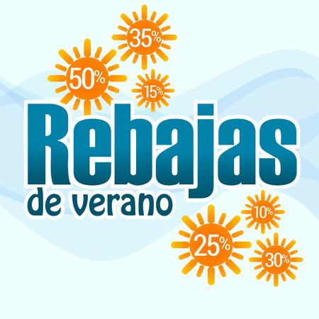 rebates: Rebajas de verano, texto en espa�ol para las pr�ximas rebajas de junio a julio