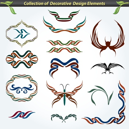 Collection of Decorative Design Elements 1