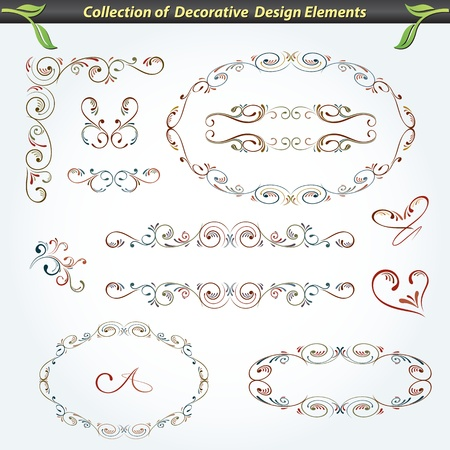 Collection of Decorative Design Elements 2