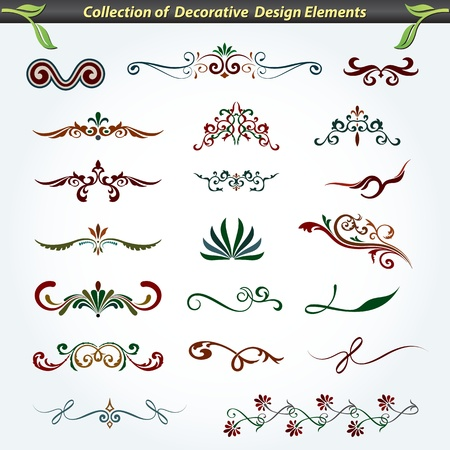 Collection of Decorative Design Elements 5