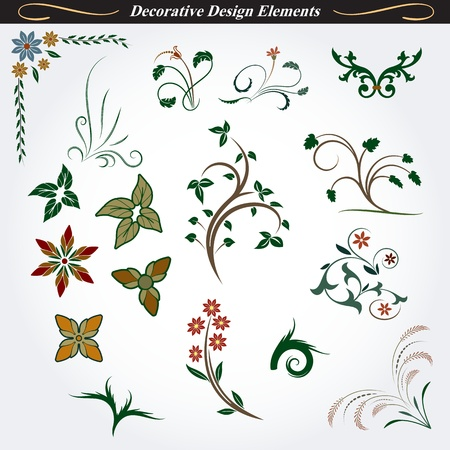 Collection of Decorative Design Elements 8
