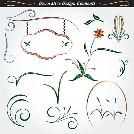 Collection of Decorative Design Elements 9
