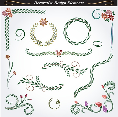 Collection of Decorative Design Elements 10