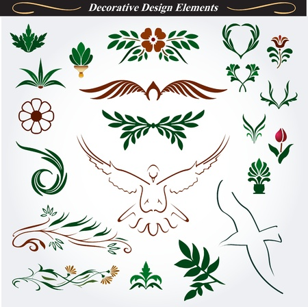 Collection of Decorative Design Elements 15