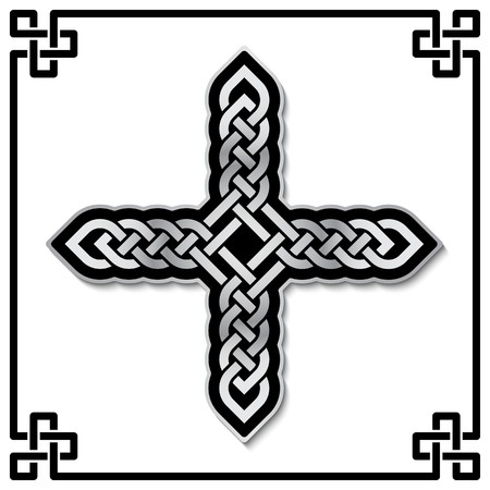 Celtic Cross Pattern Vector