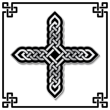 Croce celtica modello Archivio Fotografico - 23186867
