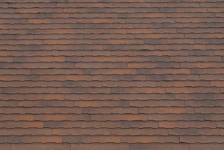 shingles: Fondo de textura de guijarros de techo marr�n oxidado. Foto de archivo