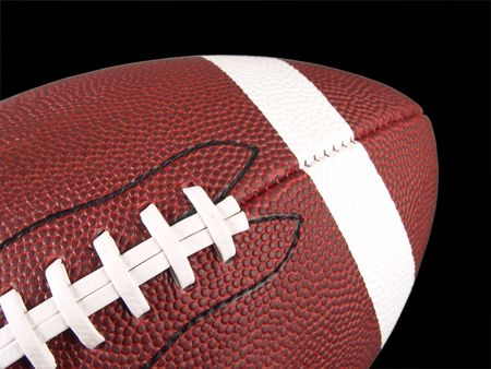 American Football Close-up Stock Photo - 386552