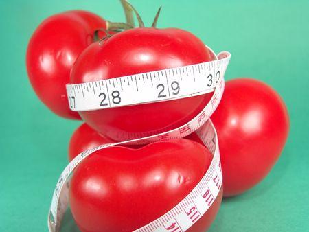 Measuring Tomatoes Stock Photo - 386544
