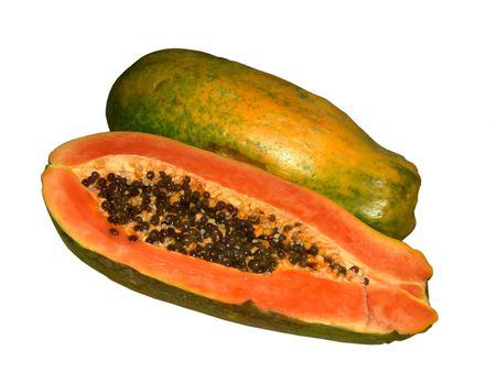 Papaya 3 Stock Photo