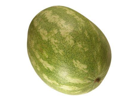 carotenoid: Toda una sand�a aislados en fondo blanco