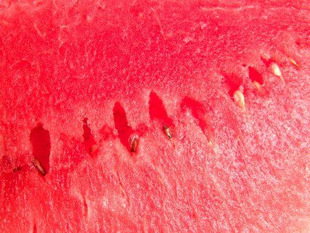 seedless: Juicy seedless watermelon fresh close up background Stock Photo