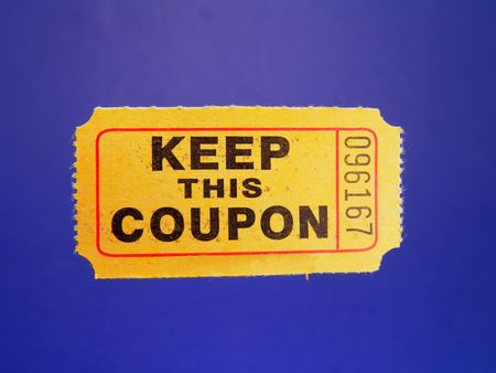 Admission ticket or coupon