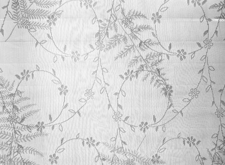 window curtains: High key abstract white lace pattern texture background