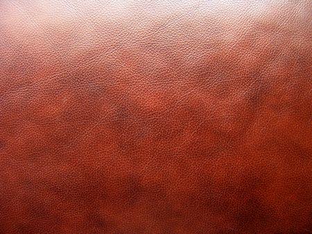 Very good texture of brown European sofa leather                                photo