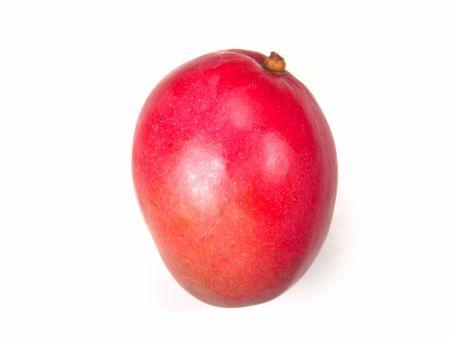 brilliant colors: Macro view of ripe and juicy mango (brilliant colors photo)