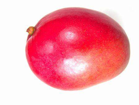 brilliant colors: Macro de vista maduro y jugoso mango (colores brillantes foto)