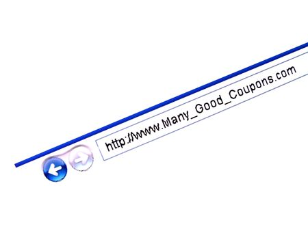 irony: Irony Fake Website (www.Many_Good_Coupons.com) Internet Shopping Savings Coupons