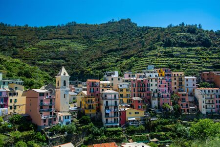Manarola is a small town in the province of La Spezia, Liguria, northern Italy. It is the second-smallest of the famous Cinque Terre towns frequented by tourists.