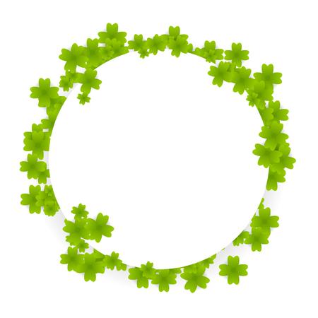 Green clover Saint Patrick ireland