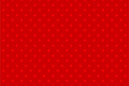 Comic halftone dot red background retro pop art
