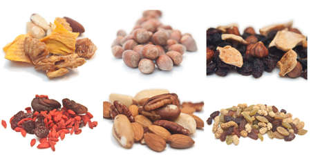 Mixed nuts and dried fruit collection Stock Photo - 8717447