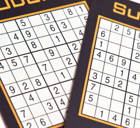 Sudoku number game photo