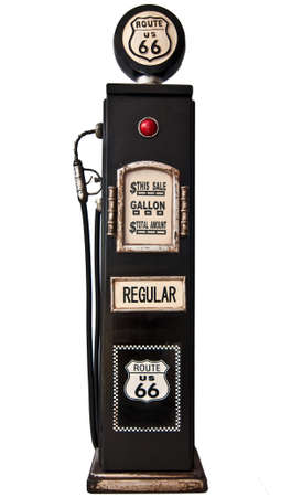 fuel economy: route 66 fuel pump