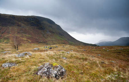 Scottish Glen next to Fort William, Scotland